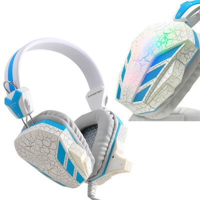 Gaming Headset Surround Stereo Headband Headphone USB 3.5mm LED With Mic For PC-580105