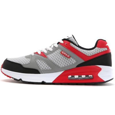 Jingdong supermarket] Erke running shoes couple air cushion retro men casual running shoes 51115220029 gemstone blue / golden 39 yards