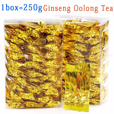 Ginseng tea oolong tea 1 boxes of 250g health tea Taiwan ginseng oolong tea ginseng tea Gift Free Delivery