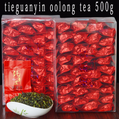 500g oolong tea Tieguanyin 2019 natural organic green food oolong tea free delivery