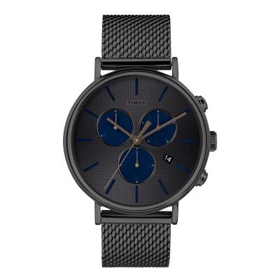 Tianmei TIMEX full-length luminous watch male classic steel belt waterproof quartz male watch TW2R98000