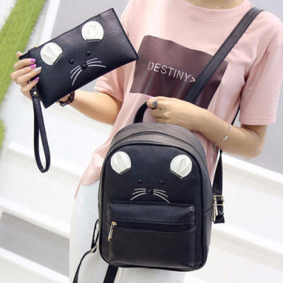 Women Travel Backpack Rucksack PU Leather Shoulder School Bag Satchel Handbag UK