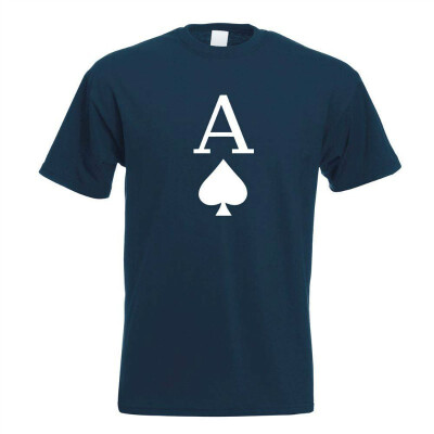 Ace of Spades Playing Card T-Shirt Men Design Gift