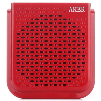 Love lesson AKER AK77 audio square dance fitness teaching small bee multi-function digital loudspeaker red