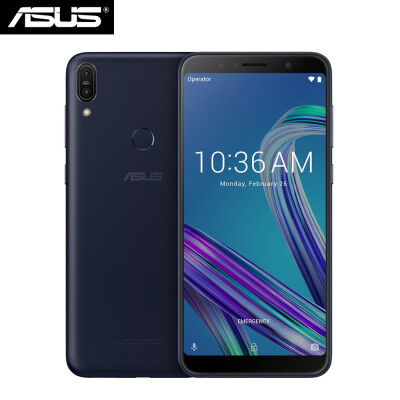 Global Version ASUS ZenFone Max Pro M1 4G Mobile Phone Snapdragon636 Octa-core Android 81 6GB RAM 64GB ROM 16MP8MP Cams 6inch 18