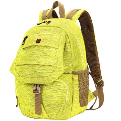 "SWISSGEAR Fashion Casual Shoulder Bag 14.6 ""Laptop Bag Men & Women Outdoor Travel Bag Backpack Korean Student Bag SA-9850 Purple"