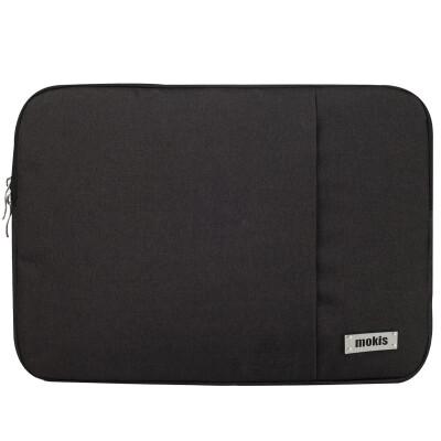 Mochi (MOKIS) computer liner bag 13.3 / 14.1 / 15.6 inch Apple laptop bag Lenovo Dell Asus liner bag MKDNB025-5D black