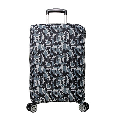 Binhao BINHAO high elastic suitcase protection sets of trolley case suitcase case  code security dust cover 2607 dark gray 28-30 inch