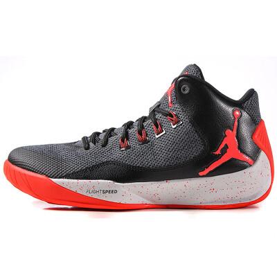 Nike NIKE men's shoes Jordan shoes JORDAN RISING ZOOM cushion basketball shoes 845843-006 winter spring dark gray 42.5