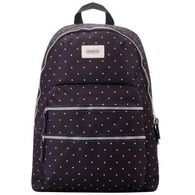 American Tourister Trendy EC Series Fashion Bag Shoulder Bag BH7 * 87004 Black White Point