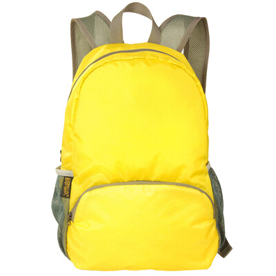 Dayton Bags Shoulder Bag Backpack Sports Leisure Travel Men & Women Fashion Student School Bag Trip Waterproof Bags 20L Yellow