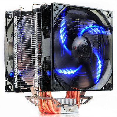 Overclocking three PCCOOLER East China Sea X6 CPU radiator multi-platform support AM4 11515 heat pipe PWM temperature control 12CM silent fan with silicone grease