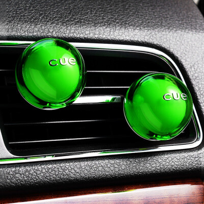 CarSetCity cue fragrant ball car with car outlet perfume aroma car decoration pendant decoration grass grass green dress