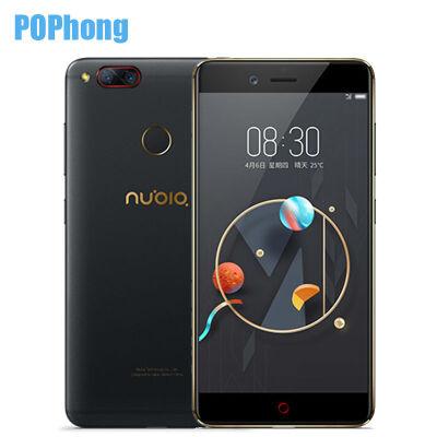 Original ZTE Nubia Z17 mini 5.2'' 4GB RAM 64GB ROM Smartphone Snapdragon 652 Octa Core Dual 13.0MP Rear Cameras Android NFC