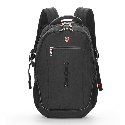 "Reggie REGIUS Shoulder Backpack Sprinkler Fabric 15.6 ""Laptop Bag Business Travel Men & Women Casual Shoulder Bag R8818 Gray"