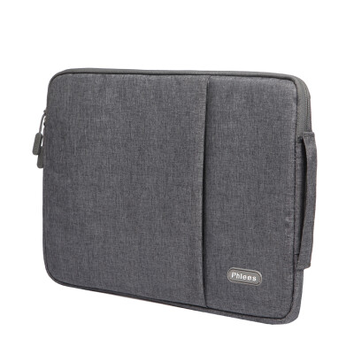 Phlees computer bag 14 inch extraordinary series Apple Lenovo Dell Asus laptop bag MacBook air pro liner bag cover gray