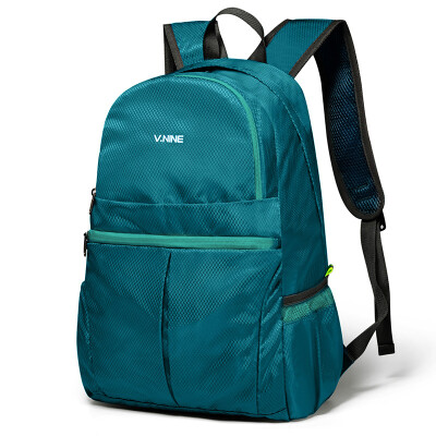 V.NINE (ninth city) shoulder bag male waterproof folding bag portable computer bag multi-function trend backpack bag Korean version of orange VD699732