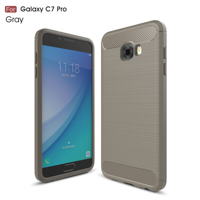 GANGXUN Samsung Galaxy C7 Pro Case Anti-Slippery Scratch-Resistant Lightweight Soft Silicon Cover For Galaxy C7 Pro