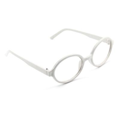Unisex Retro Vintage Fashion Round Oval Eyeglasses Glasses Frame No LENS