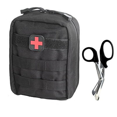 Tactical MOLLE EMT Medical First Aid IFAK Utility Pouch Bag