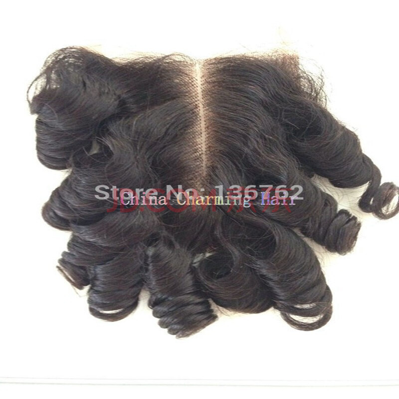 Cheap brazilian Closure 8A brazilian Virgin Hair Closure Aunty Funmi Hair Weave Bob Star Style Model Hair Bob Closure Wigs