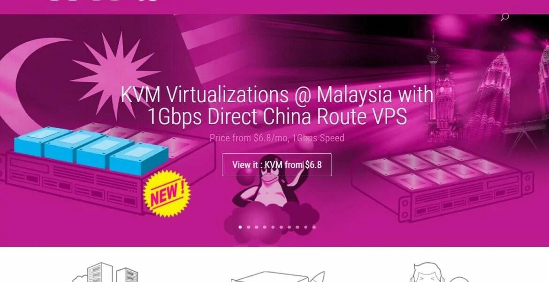 羊毛党之家 智商税-GigsGigsCloud:马来西亚VPS/1核/512M内存/15G SSD/400G流量/30M端口/月付$6.8/大陆优化线路/个人向/适合做站