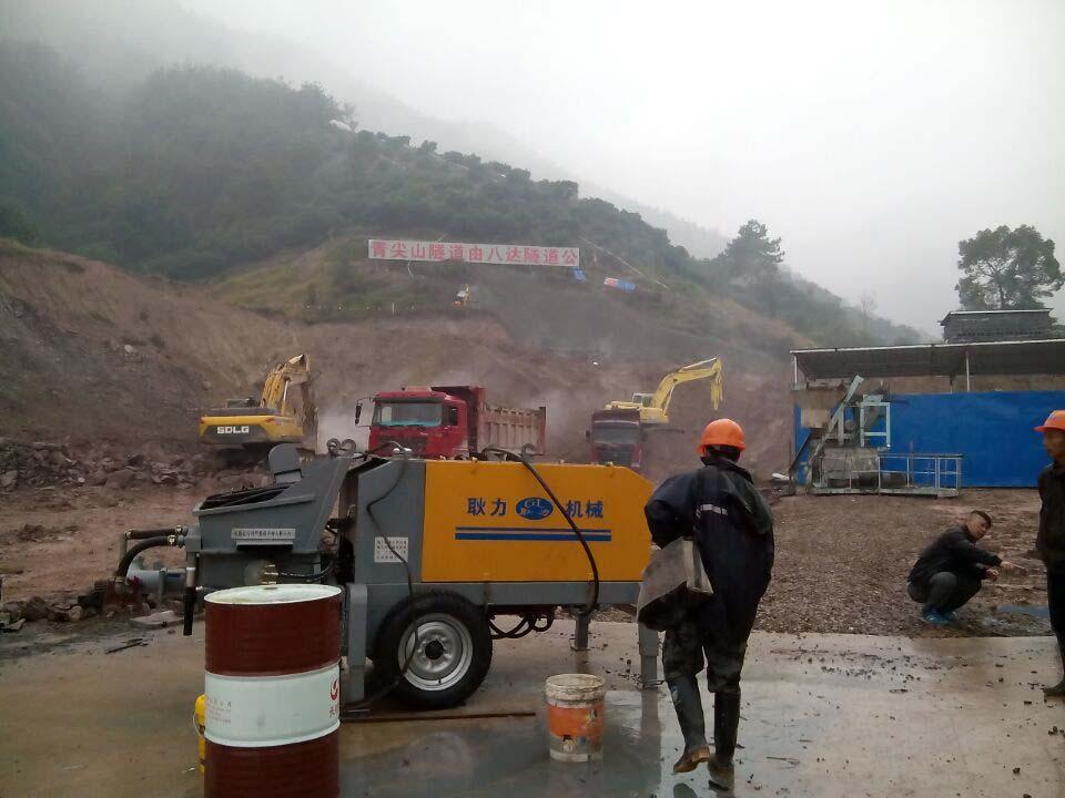 耿力濕噴機承建青尖山隧道,明年龍巖到永福只要半小時