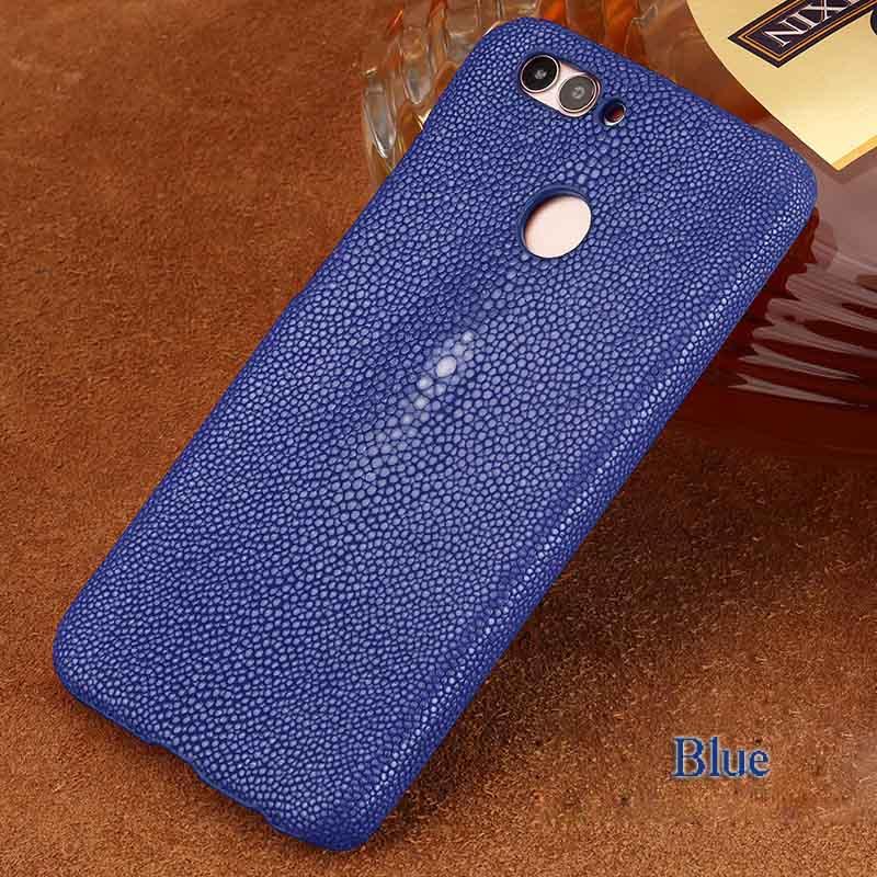 langsidi синий HUAWEI Mate 10, Подлинная кожа