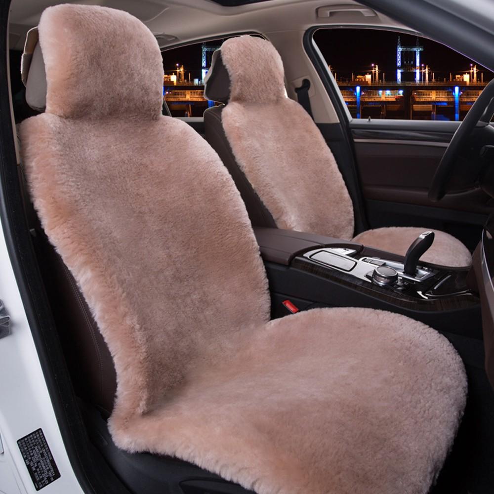 Купить Covers Хаки Wool Seat Cover Plush 01