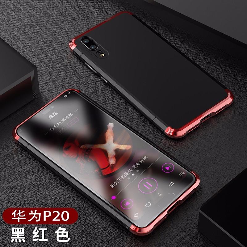 BOBYT Черный Красный HUAWEI P20 Pro, Huawei P20