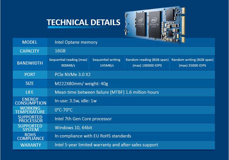 Ổ Cứng SSD Intel Optane M2 16GB