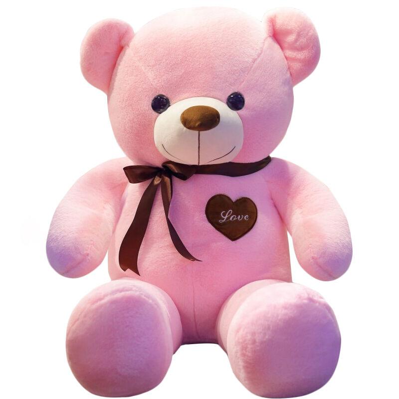 JD Коллекция 12 м розовый плюшевый медведь дефолт
