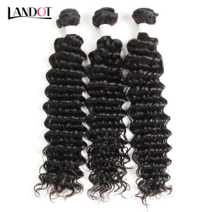 price history8A Brazilian Virgin Hair Deep Wave 100% Human Hair Weave Bundles Virgin Brazilian Deep Curly Hair Extensions Natural Black Can Dye on joybuy
