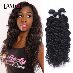 price history8A Brazilian Water Wave Virgin Hair 100% Human Hair Weave Bundles Wet And Wavy Brazilian Curly Hair Extensions Natural Black 1B# on joybuy