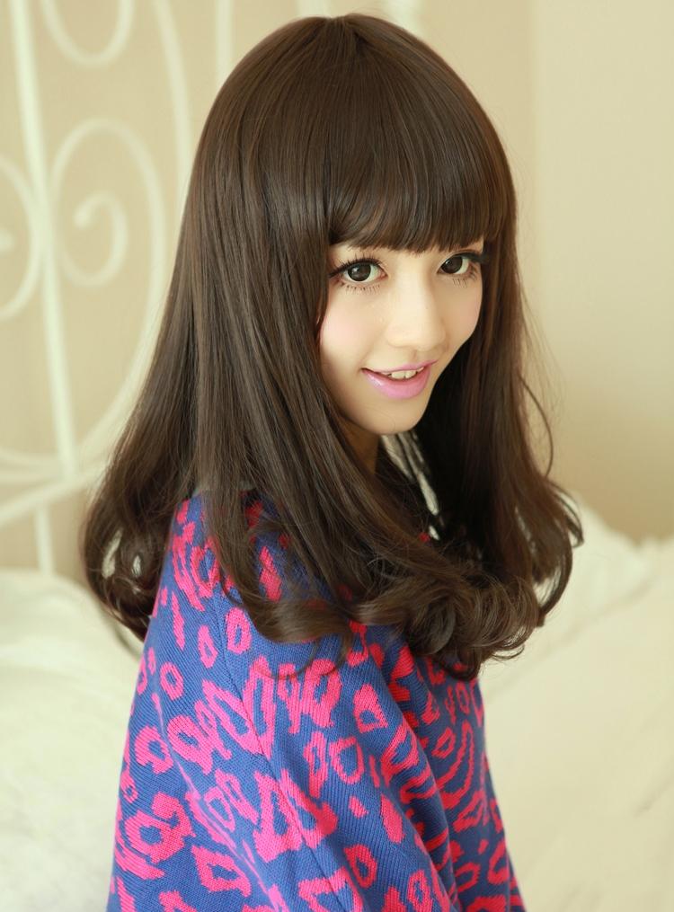 中亚麻金棕色_染头发,是浅棕色好看,还是深棕色,还是亚麻色-女孩中短发染深 ...