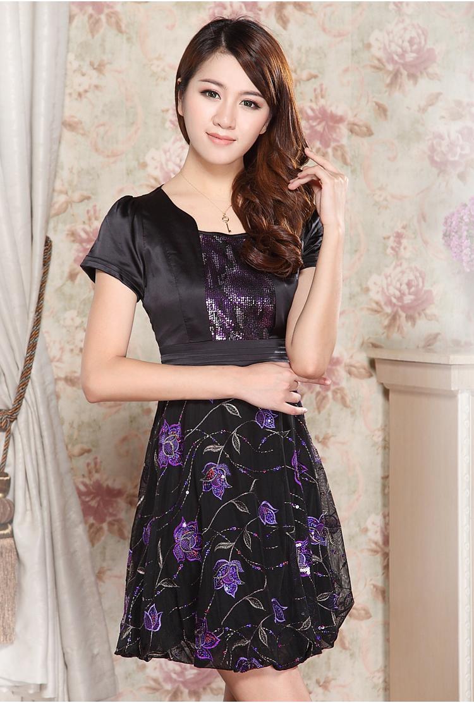 女士裙子品牌_中年妇女连衣裙性价比 质量好推荐