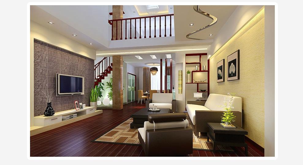 土巴兔-装修网 上海 复式楼装修设计服务 家庭房子房屋住宅复式装修