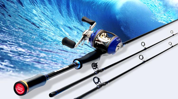 钓海鲈鱼用什么鱼竿_鱼竿路亚同款质量比较好 鱼竿路亚竿套装价格