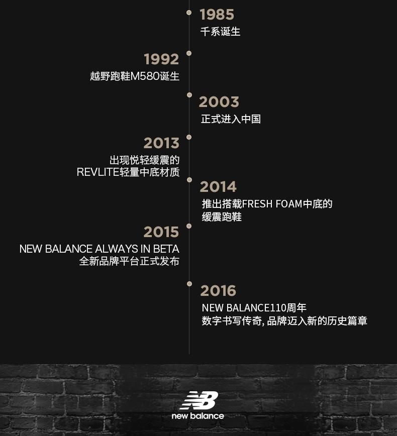 New Balance NB官方男鞋RCVRY系列RCVRYB2简约经典百搭时尚运动舒适跑步鞋 白色/红色 40(脚长25cm)