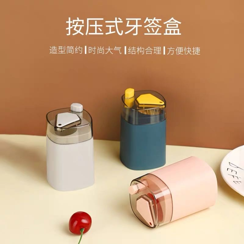 페인트 세트 노르딕 홈 누르점 자동 치료 태그 가르게 유럽의 가정 이쑤시개 저장소 무작위 색상 [500 이쑤시개 포함]