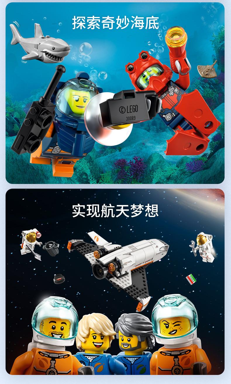 乐高(LEGO)City 城市系列