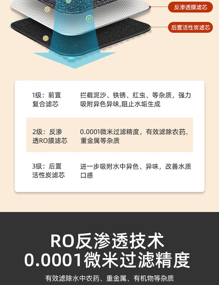 浩泽YCZ-CX70-C1家用净水机(图5)
