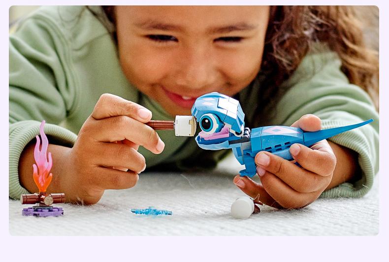 乐高(LEGO)Disney Princess 迪士尼系列 6岁+ 43186 火蜥蜴