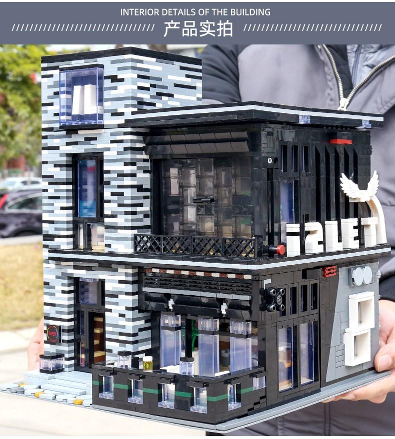 宇星模王 街景系列灯光酒吧16042