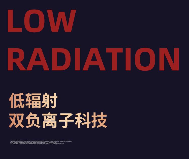 37871-吹风机家用大小功率学生宿舍静音电吹风筒蓝光负离子吹风机网红款 时尚白 【800W】宿舍-详情图