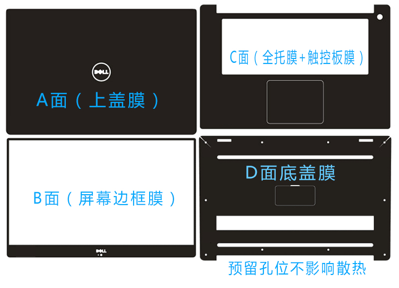 Dán surface  Surface Laptop2 Pro 6 book2 135Surface Laptop2 ACD - ảnh 2