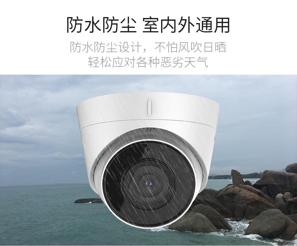 海康威视 DS-IPC-T12H2-I/POE音频半球