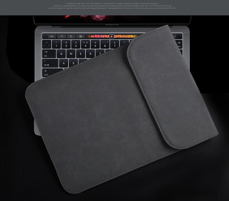 Bao da macbook da lộn dáng đứng bestchoice-BD01 - ảnh 1