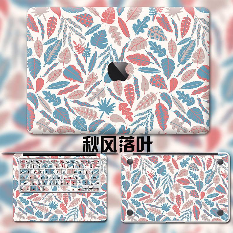 Dán Macbook  MacMacBookair13pro1511133 2018133airA1932 苹果外壳贴 - ảnh 61