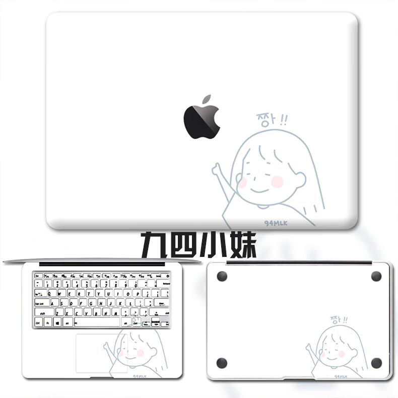 Dán Macbook  MacMacBookair13pro1511133 2018133airA1932 苹果外壳贴 - ảnh 39